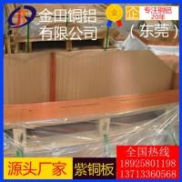 C10200无氧紫铜板 C1100紫铜板 TP2磷脱氧铜板