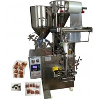 唐山科胜180全自动辣子油包装机|大酱包装机|河北包装机