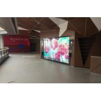用在机场、地铁、火车站的耐诺55寸液晶拼接屏