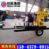 轮式液压行走钻机用XYX-200小型轮式液压勘探钻机方便快捷
