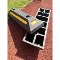 车轮定位器 橡胶定位器厂家 停车场车轮定位器