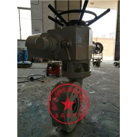 叠加带涡轮头电动执行器DQW2000-WT配调节型风门