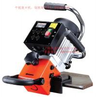台湾AGP电动破口机,钢板破边机