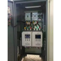 供应75kW离心泵软启动柜,一用一备控制柜定做