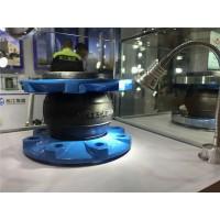 暖气管道阀门使用DN80橡胶减震伸缩接头