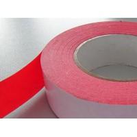 红色棉纸双面胶 棉纸红色双面胶带