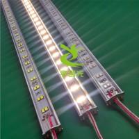 宇创光2835双排硬灯条12V144灯橱窗展柜线条灯