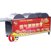 全自动旋转燃气烤鸡炉不用加盟,越南摇滚奥尔良烤鸡炉配方