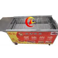 六排木炭摇滚烤鸡炉厂家直销赠新奥尔良烤鸡配方不用加盟