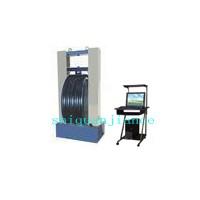 管材环刚度试验机塑料管环柔度扁平压缩复原实验机
