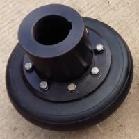 泊头联轴器厂供应 UL型轮胎联轴器 轮胎体