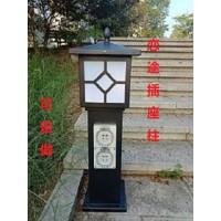 HW-201 恋途  插座灯柱  立式插座柱 户外防水插座柱