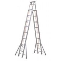 绝缘人字梯绝缘梯环氧树脂梯子折叠梯电力玻璃钢维修梯