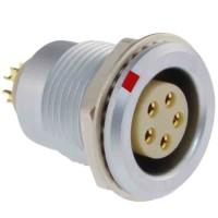 沿溪连接器5芯母座航空接插件仪器信号传输采集器工业设备连接口