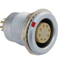 沿溪连接器8芯母座航空接插件仪器信号传输采集器工业设备连接口