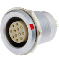 沿溪连接器12芯母座航空接插件信号传输采集器工业设备连接口