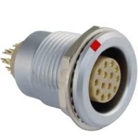 沿溪连接器14芯母座航空接插件信号传输采集器工业设备连接口