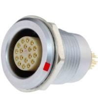 沿溪连接器18芯母座航空接插件信号传输采集器工业设备连接口