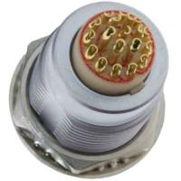 沿溪连接器19芯母座航空接插件信号传输采集器工业设备连接口