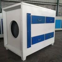 UV光氧净化器光解催化设备蜂窝活性炭废气净化装置
