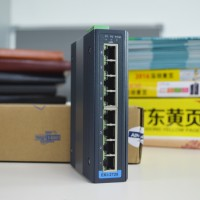 研华EKI-2728千兆8口以太网网络交换机
