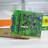 研华PCI-1602B PCI-1602C串口卡2口扩展卡