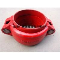 钢制管道GJH型卡箍式柔性管接头环型带管