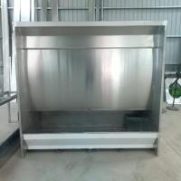 大吸力水帘柜 不锈钢材质 内部构造